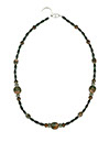Beadin' Path Black Coral Necklace