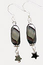 Hematite Large Earrings