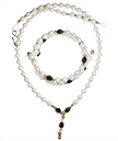 Pearl Mine Necklace and Bracelet